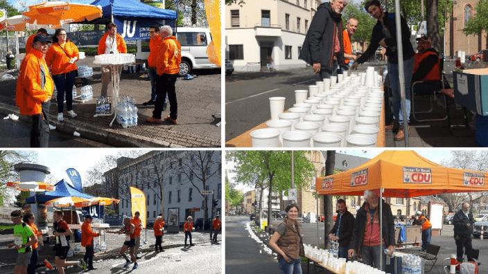 Tatkräftige Unterstützung beim 18. Bonn Marathon