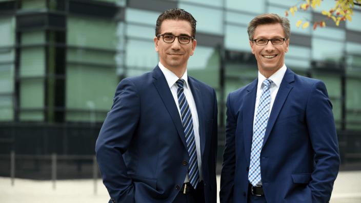 Bonner Mitglieder des Landtags: Guido Déus und Christos Katzidis