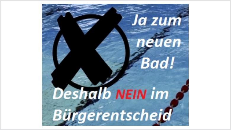 Rathauskoalition wirbt für Neues Schwimmbad
