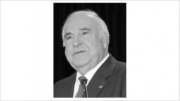 Helmut Kohl (3. April 1930 - 16. Juni 2017)