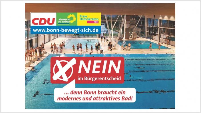 CDU, GRÜNE & FDP mit Kampagnenstart zum Bürgerentscheid!