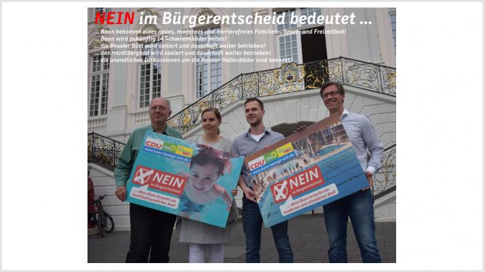 Neues Bad in Dottendorf: Ratskoalition wirft Badgegnern Irreführung vor