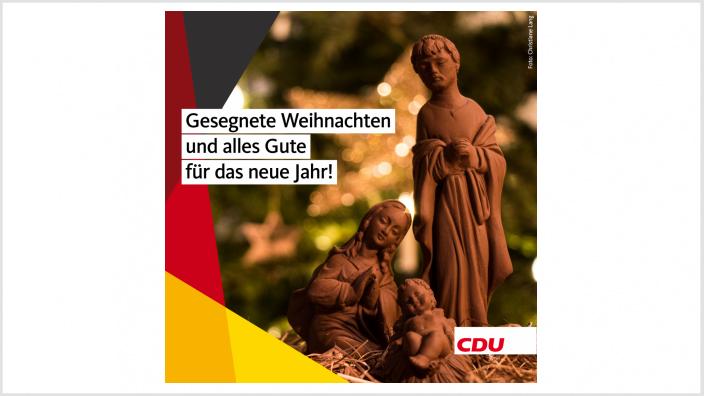Die Bonner CDU wünscht ein frohes Fest und alles Gute